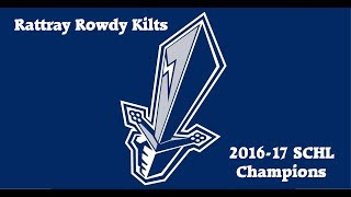 SCHL Rowdy Kilts 2017 Snipers Cup Champs