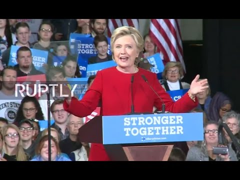 LIVE: Clinton holds campaign rally in Kent, Ohio