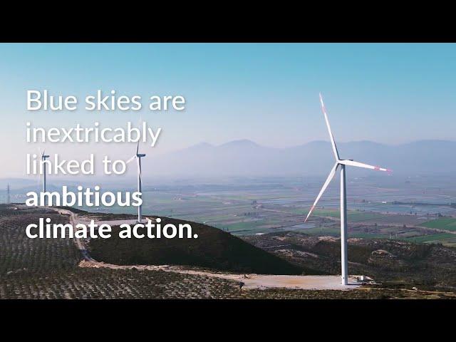 Blue Skies & Net-Zero 2050 Campaign Update