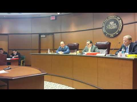 Dauphin County Commissioners Meeting, The assault, The Constitution