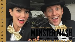 HALLOWEEN LIP SYNC | Kristin and Danny
