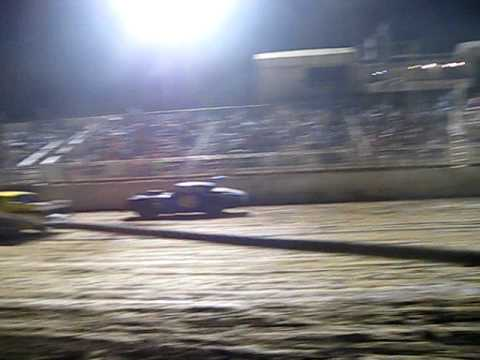Perris Auto Speedway Pat Tone First Checkered Flag Car 49