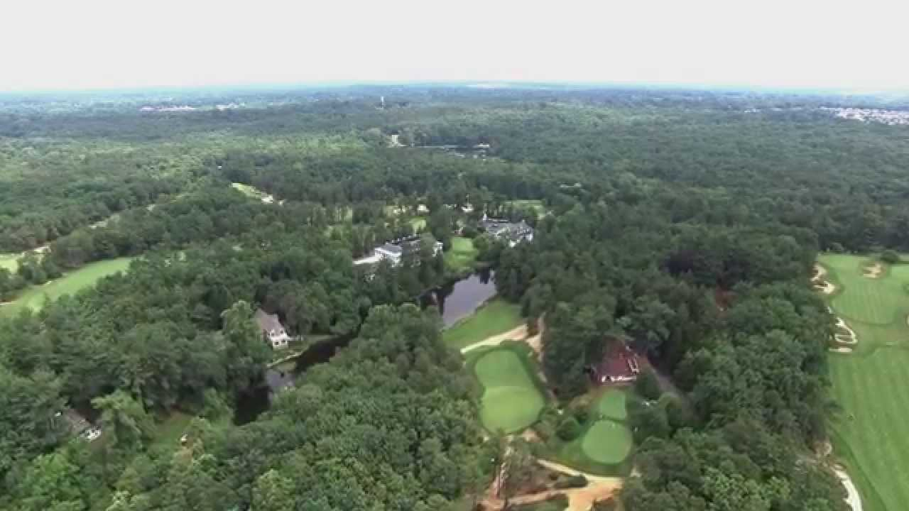 DJI Phantom 3 over Pine Valley Golf Course - YouTube