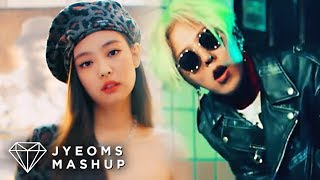 Gambar cover JENNIE & BIGBANG - SOLO X FXXK IT (MASHUP) [feat. PLAYING WITH FIRE & MIC DROP]