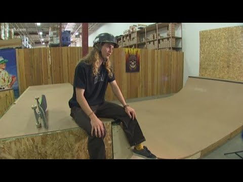 Pro-skater stresses the importance of wearing a helmet