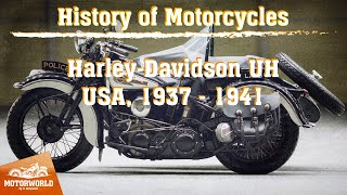 Harley Davidson UH | 1938, USA. Review & test-drive.