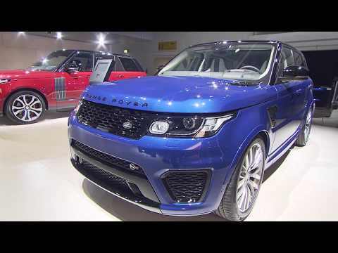 Land Rover at the Frankfurt Motor Show