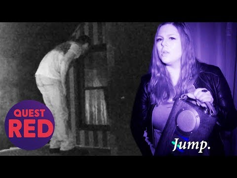 Terrifying Voices Try To Make Nick Jump Out Of A Window | Paranormal Lockdown