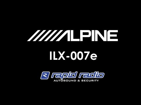 Alpine ILX 007e installed in Auckland, New Zealand at Rapid Radio