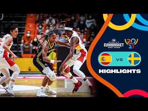 Spain - Sweden | Highlights - FIBA Women's EuroBasket 2021