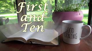 Wednesday First and Ten