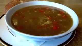 Scotch Broth Touchdown Cafe Perth Airport Scone Perthshire Scotland