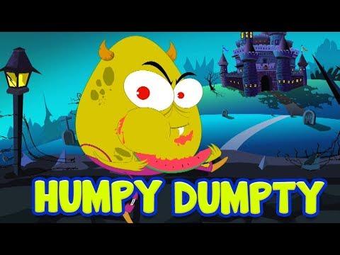 Шалтай-Болтай Сидел На Стене   Хэллоуин песни для детей   Halloween Baby Songs   Humpty Dumpty Rhyme