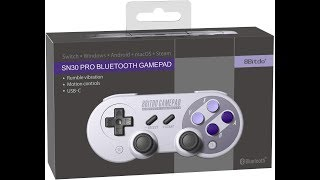 8bitdo SN30 Pro | Tech Review + Test | Switch/PC/Mac/Android