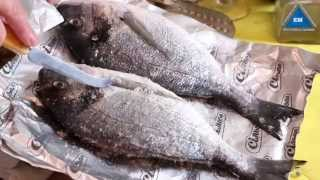 Как правильно чистить рыбу дорадо