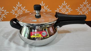 Prestige Deluxe Alpha Stainless Steel Pressure Cooker Review