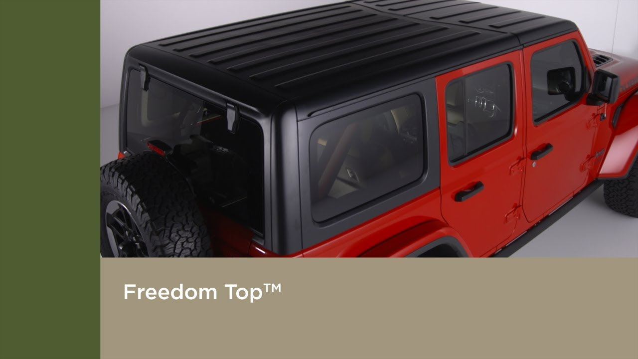 Freedom Top Removal And Installation How To 2019 Jeep Wrangler