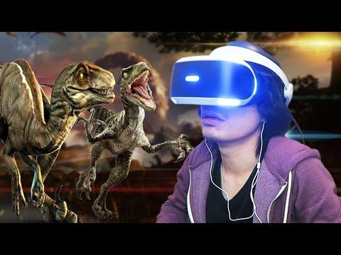 MELIHARA TYRANNOSAURUS - Robinson: The Journey Playstation VR Indonesia