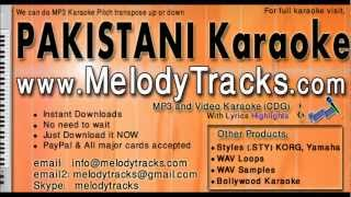 Kinna sona tenu rab ne banaya - Nusrat Fateh Ali khan KarAoke - www.MelodyTracks.com