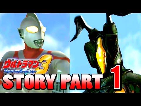 Ultraman FE3 - Story Mode Part 1S-Rank ( 1080p HD 60fps )