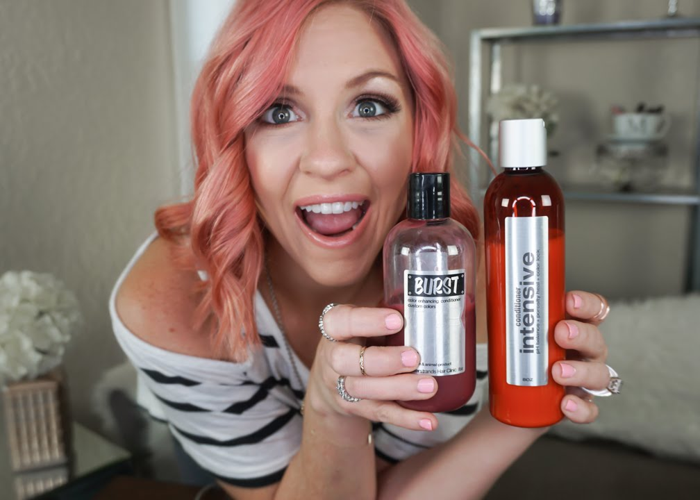 How To Keep Your Pink Purple Blue Red Or Green Hair Color Vibrant Boost Burst Megan Navarro You