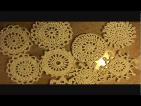 No Pattern Quick And Easy Doilies Youtube