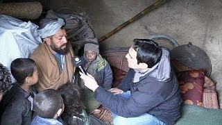 Euronews visits Afghan refugees living in desperation and squalor