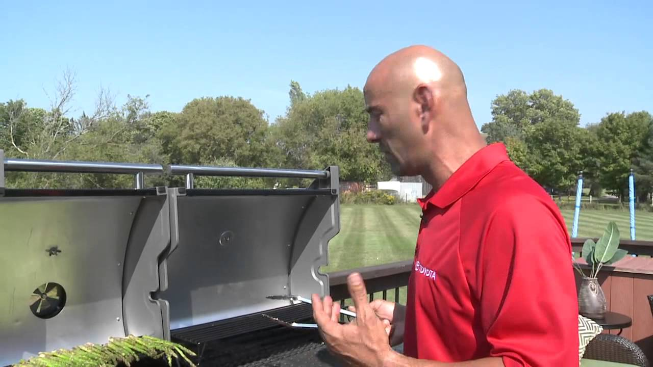 Fish Tv Coleman Dual Fuel Grill