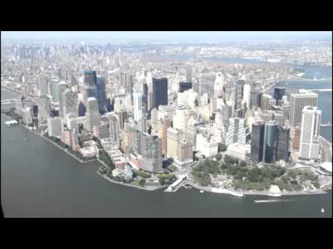 New York. Helicopter view, part 1.