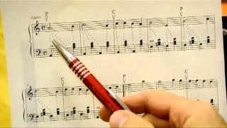 Видео-урок, учим на гармони: Катюша