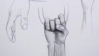Aprendiendo a dibujar: cómo dibujar manos - Arte Divierte.