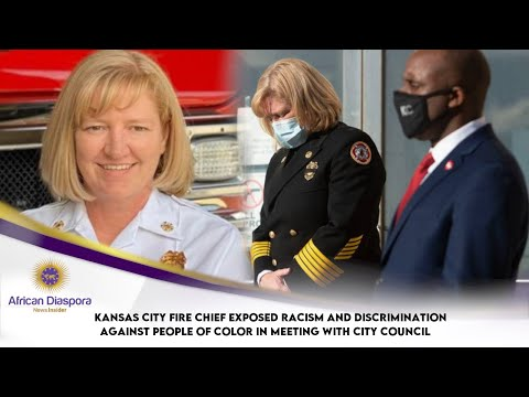 Kansas City Fire Chief Responds After Black Firefighter Had No*se Put Around His Neck By Co-Worker