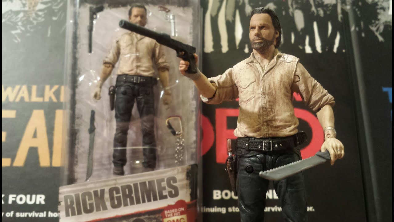 Series 6 Rick Grimes Action Figure McFarlane WALKING DEAD TV