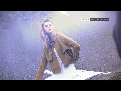 Topmodel Stefanie Giesinger friert beim Photoshooting in der Schweiz