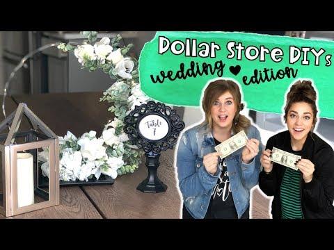 Dollar Store DIY | Wedding Dollar Store Hack | Centerpiece DIY