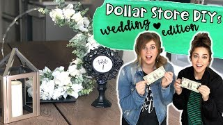 Dollar Store DIY | Wedding Dollar Store Hack | Centerpiece DIY