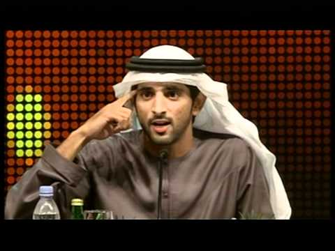 Artist interprets Sheikh Hamdan's Arabic poems in the form