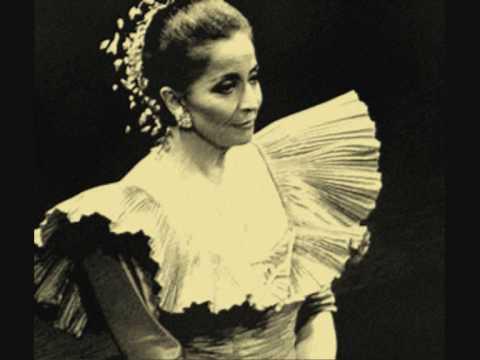 Teresa Berganza *Las morillas de Jaén* by F.G. Lorca