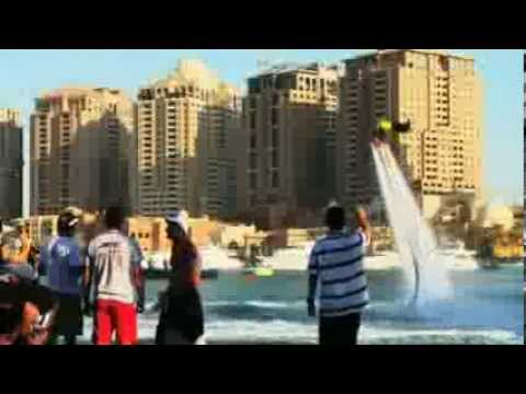 FLYBOARD WORLD CUP QATAR 2013 english version