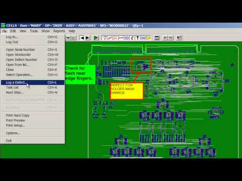 Job Tracking MES software-Low cost Product and Job Tracking Manufacturing Execution System (MES).