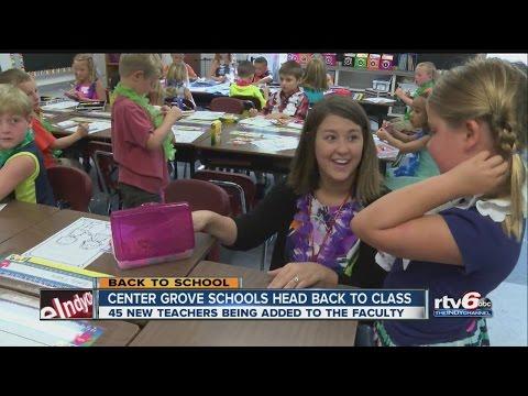 Center Grove schools add 45 new teachers