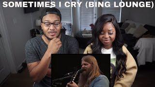 "Chris Stapleton  ""Sometimes I Cry"" at Bing Lounge (reaction)"