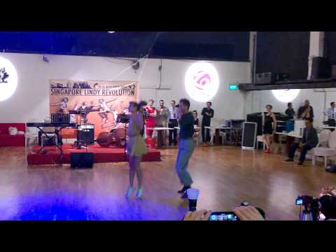 Singapore Lindy Revolution 2014 Saturday Night Fredrik Dahlberg & Mimmi Gunnarsson Performance