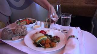 Emirates A380 Business Class Milan-New York Return
