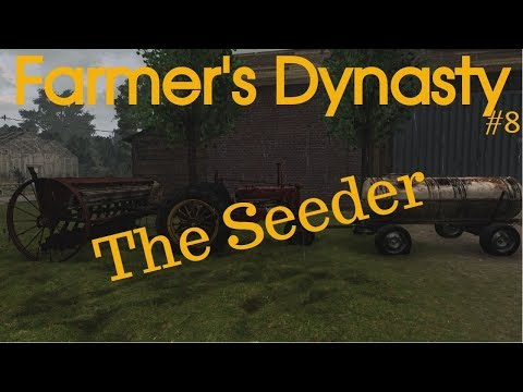Farmers Dynasty #8 | Seeder | When do we fertilize and spread manure?
