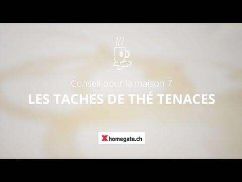conseil pour la maison 7: enlever les taches de thé tenaces - youtube