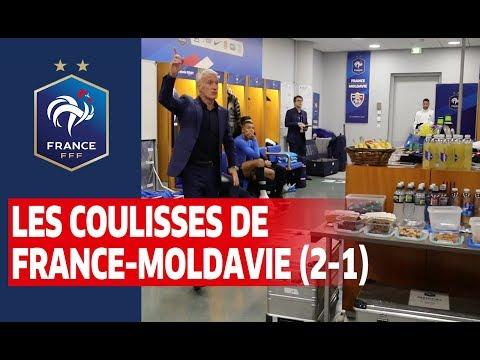 Au coeur du vestiaire des Bleus pour France-Moldavie (2-1), Equipe de France I FFF 2019