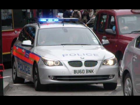 Metropolitan Police Response   BU60 BNK   Airport Armed Response Vehicle   BMW 525d