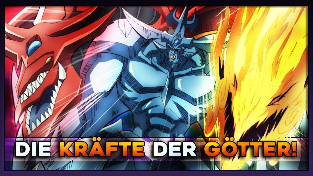 die götterkarten  anime effekt vs tcg effekt yugioh