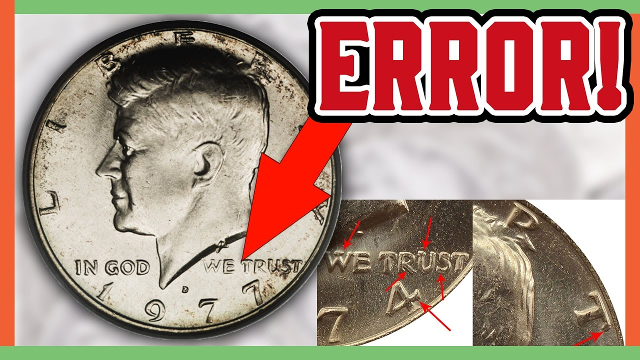 Rare Error Half Dollars Worth Money Coin Hunting Tips